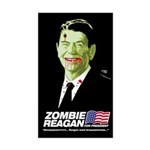 Vote Zombie Reagan in 2008 Rectangle Sticker