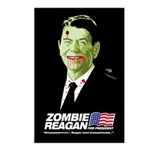 Vote Zombie Reagan in 2008 Postcards (Package of 8