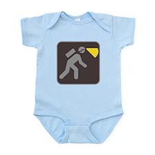 Caving Spelunking Potholing Infant Bodysuit