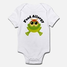Food Allergy Frog Infant Bodysuit
