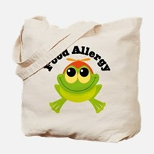 Food Allergy Frog Tote Bag
