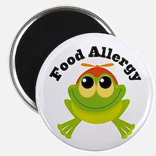 Food Allergy Frog Magnet