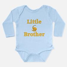 Little Brother Yellow Dinosaur Long Sleeve Infant