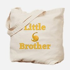 Little Brother Yellow Dinosaur Tote Bag
