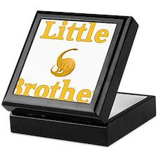 Little Brother Yellow Dinosaur Keepsake Box