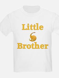Little Brother Yellow Dinosaur T-Shirt