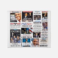 Obama Inauguration Throw Blanket