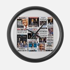 Obama Inauguration Large Wall Clock