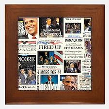 Obama Inauguration Framed Tile