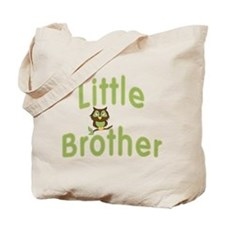 Little Brother Hoot Owl Tote Bag
