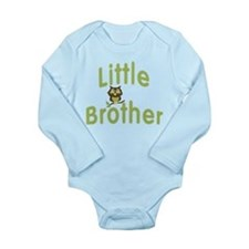 Little Brother Hoot Owl Long Sleeve Infant Bodysui