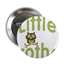 """Little Brother Hoot Owl 2.25"""" Button"""