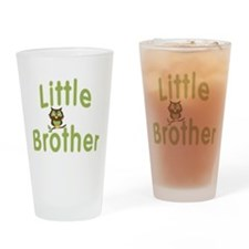 Little Brother Hoot Owl Drinking Glass