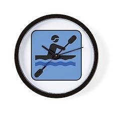 Kayak - Kayaking Wall Clock
