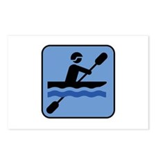 Kayak - Kayaking Postcards (Package of 8)