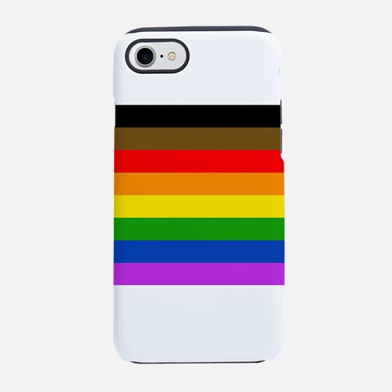 Philadelphia pride flag iPhone 7 Tough Case