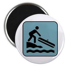 River Rafting Magnet