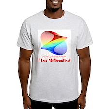 I Love Mathematics T-Shirt
