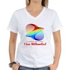 I Love Mathematics Shirt