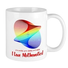 I Love Mathematics Mug
