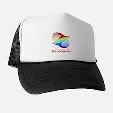 I Love Mathematics Trucker Hat