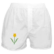 Yellow Tulip. Boxer Shorts