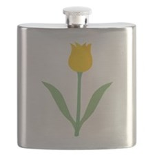 Yellow Tulip. Flask