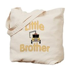 Little Brother Cute Tow Truck Tote Bag