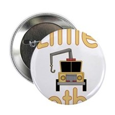 "Little Brother Cute Tow Truck 2.25"" Button"