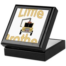 Little Brother Cute Tow Truck Keepsake Box