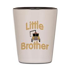 Little Brother Cute Tow Truck Shot Glass