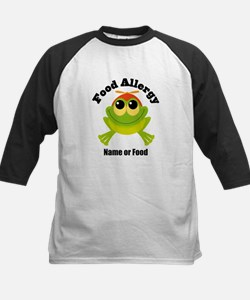Personalized Food Allergy Frog Tee