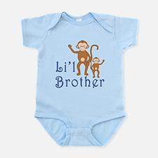 Little Brother Cute Monkeys Infant Bodysuit