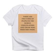 chocolate Infant T-Shirt