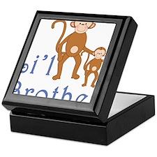 Little Brother Cute Monkeys 2 Keepsake Box