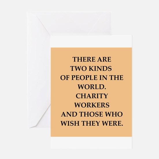 charity Greeting Card