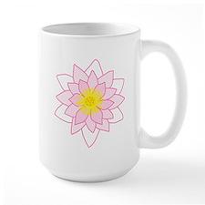 Pink Lotus Flower. Mug