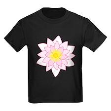 Pink Lotus Flower. T