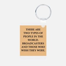broadcaster Keychains