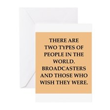 broadcaster Greeting Cards (Pk of 20)
