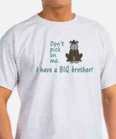 Dont Pick Little Brother Gorilla T-Shirt