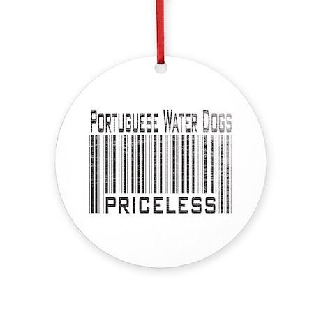 Portuguese Water Dogs Ornament (Round)