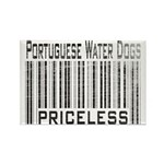 Portuguese Water Dogs Rectangle Magnet