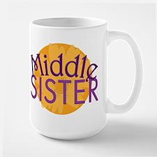 Middle Sister Purple Orange Mug