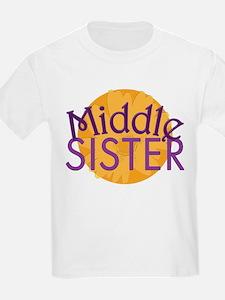 Middle Sister Purple Orange T-Shirt