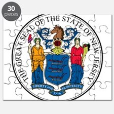 Great Seal of New Jersey Puzzle