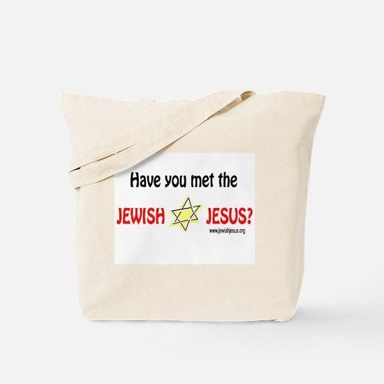 Jewish Jesus Tote Bag