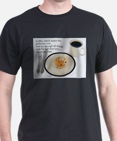 Coffee Which Makes - Alexander Pope T-Shirt