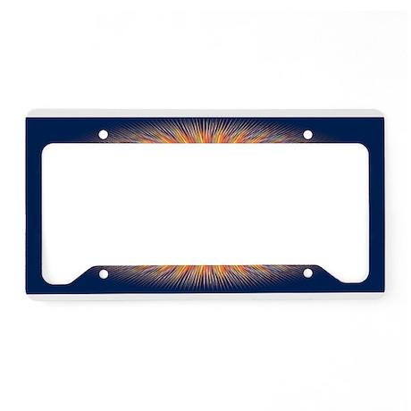 Genesis 1 1 Bible Verse Sunrise License Plate Hold