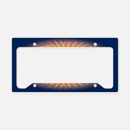 Genesis 1 1 Bible Verse Sunrise License Plate Hold
